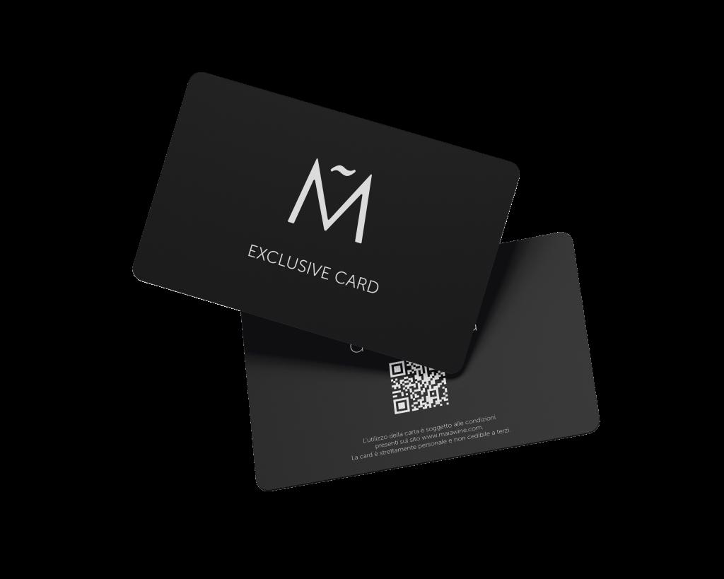 maia exclusive card esempio di lifestyle legato maia
